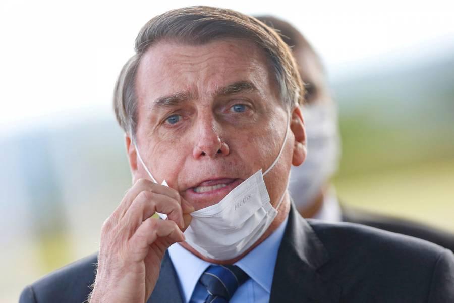 Por tercera vez, Bolsonaro da positivo a examen de coronavirus