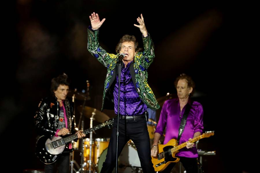 The Rolling Stones lanzan tema perdido con Jimmy Page
