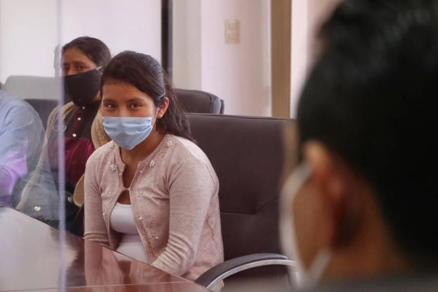 Dylan, el bebé extraviado en Chiapas, fue robado por otra menor de edad