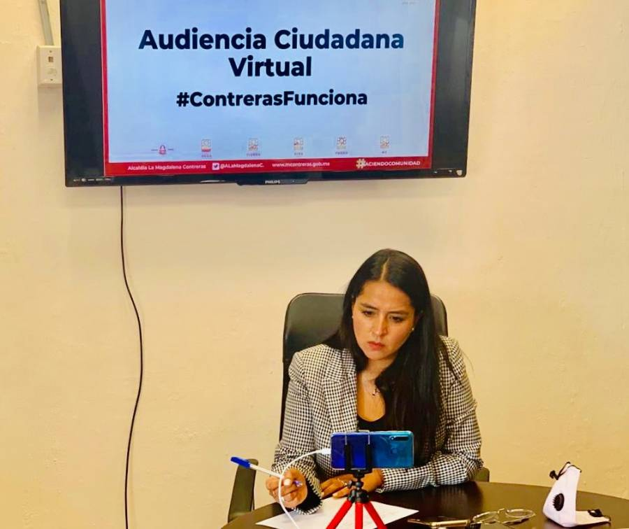 AUDIENCIAS PÚBLICAS EN MAGDALENA CONTRERAS POR SANA DISTANCIA