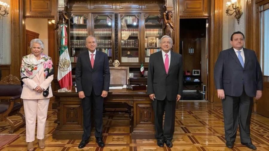 AMLO ENCABEZA RELEVO EN PRESIDENCIA DE CONAGO
