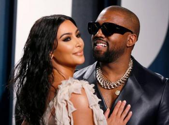 Kanye West borra tuit que decía que intenta divorciarse de Kim Kardashian