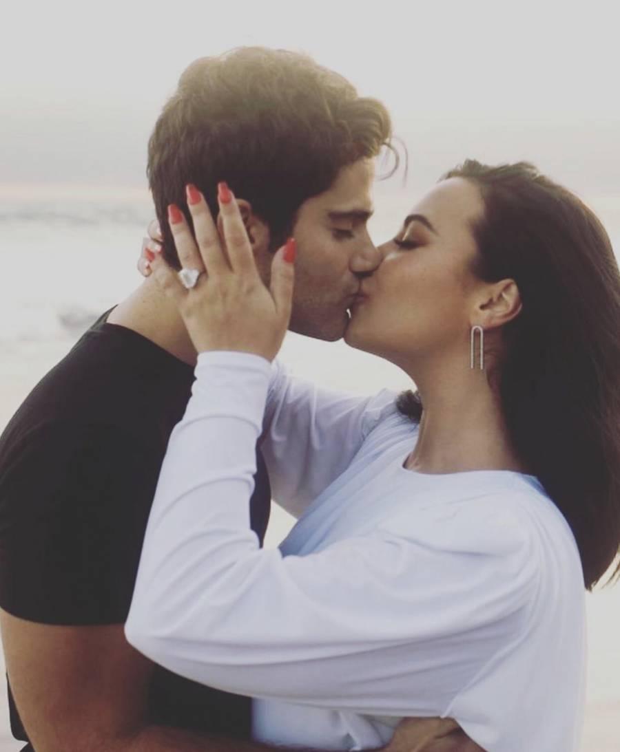 Anuncian Demi Lovato y Max Ehrich su compromiso