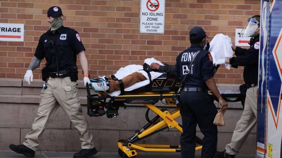 Estados Unidos rebasa los 4 millones de casos por Covid-19