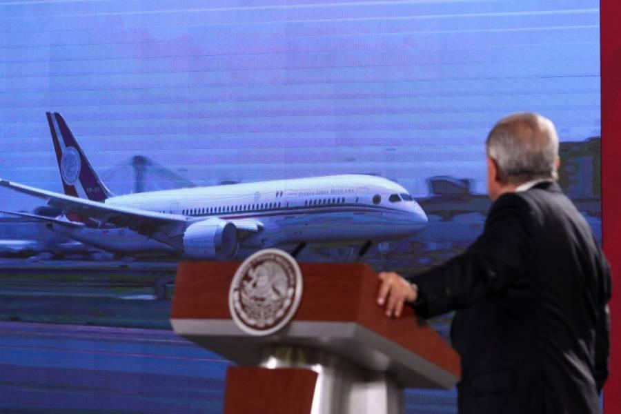 AMLO informará sobre gastos de avión presidencial, y costos de viajes de ex presidentes