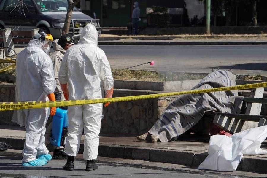 Dejan 420 muertos por Covid  en calles de Bolivia en 7 días