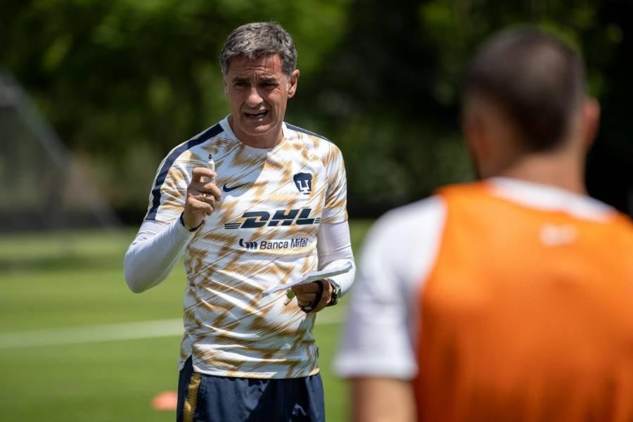 """Míchel"" González deja la dirección técnica de Pumas"