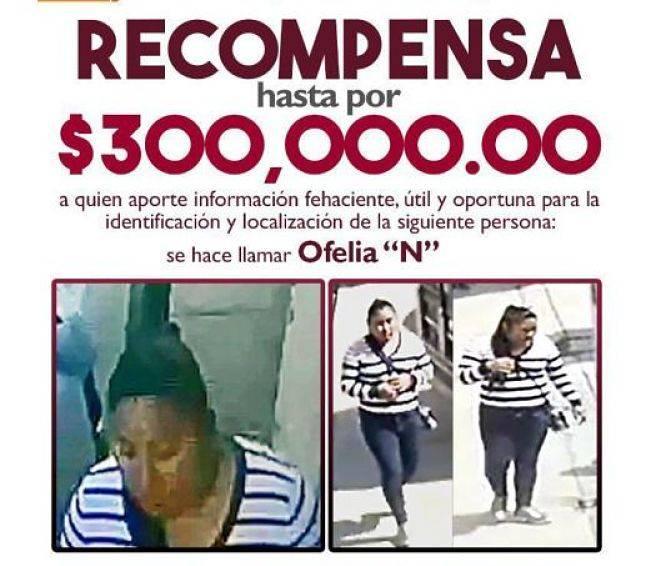 Ofrecen recompensa de 300 mil pesos para localizar al bebé Dylan