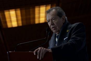 Las Afore deben desaparecer, dice Muñoz Ledo