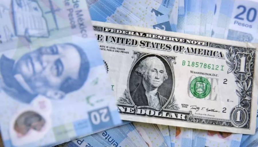 Peso gana pese a débiles datos económicos; cotiza en 22.43 por dólar