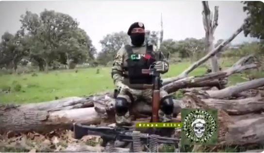 """Comandante del CJNG lanza amenazas contra """"El Marro"""""""