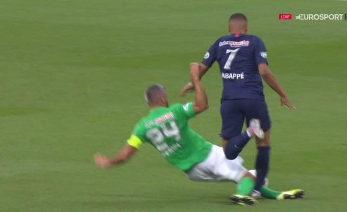 En plena final de la Copa de Francia se lesiona Mbappé