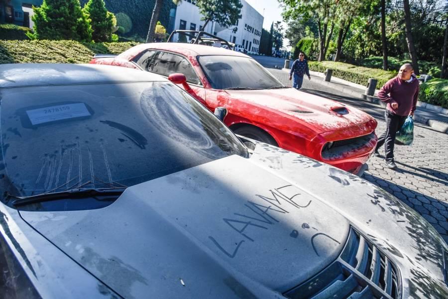 Subasta de pantaletas, autos y celulares en los Pinos