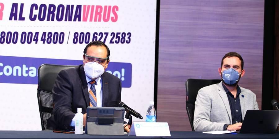 Con actuación responsable bajarían los contagios en dos semanas: Salud Guanajuato
