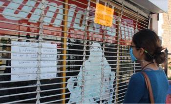 Actividad económica en México se contrae 21.6% en mayo