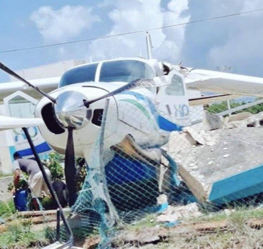Reportan accidente de aeronave en Holbox, Quintana Roo