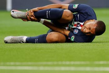 PSG reporta a Mbappé con esguince de tobillo