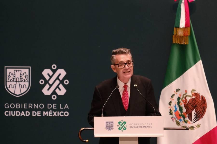 José Alfonso Suárez del Real, nuevo titular de la Secretaría de Gobierno