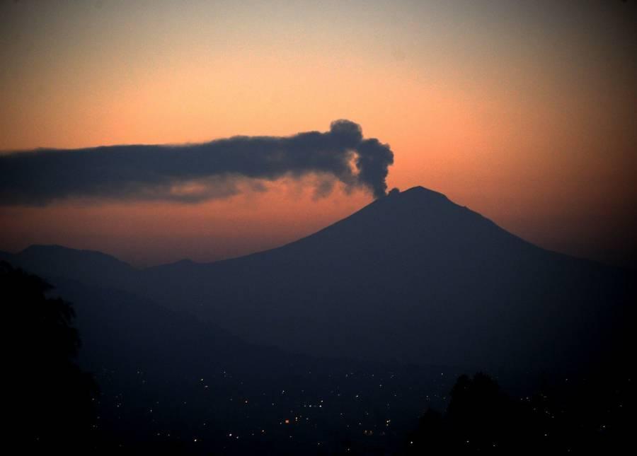 Protección Civil de la CDMX anuncia posible caída de ceniza volcánica