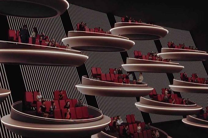 Cine de París rediseña su imagen inspirado en el Senado Galáctico de Star Wars