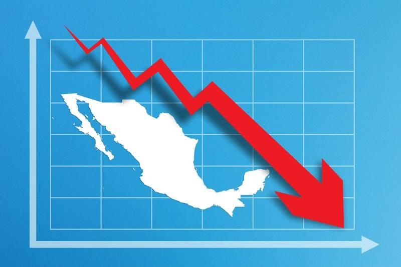Estiman caída histórica del PIB de 19.6% interanual en segundo trimestre