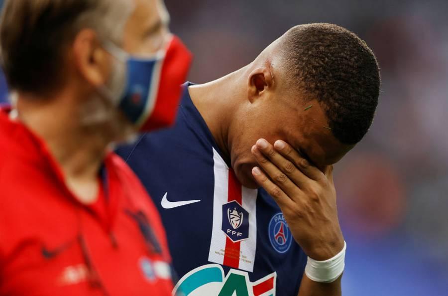 Mbappé, tres semanas de baja tras lesión; se perderá los cuartos de Champions