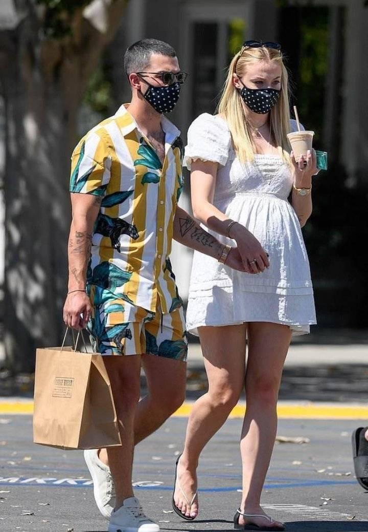 Sophie Turner y Joe Jonas se convierten en padres