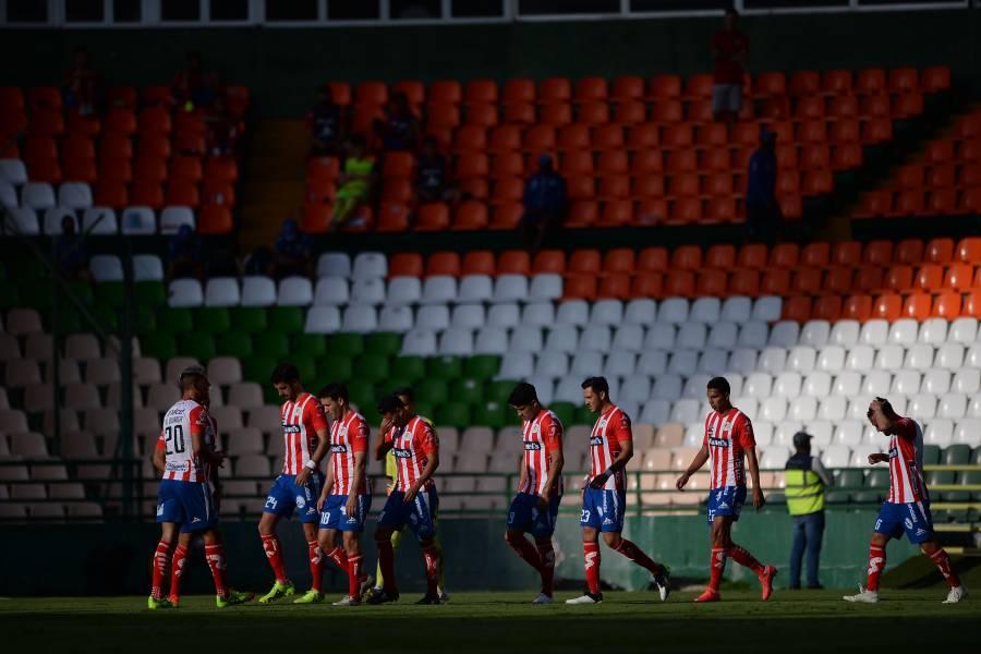 Atlético de Madrid deja sin fondos al San Luis