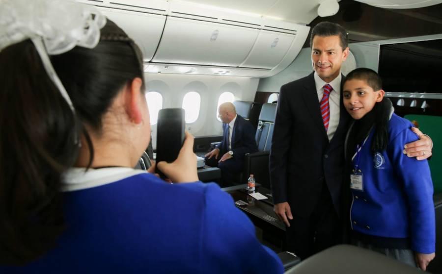 Peña Nieto gastó más de 408 millones de pesos en sus giras