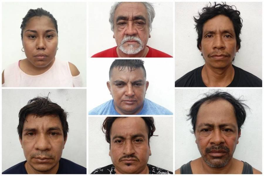 En Quintana Roo, agentes de investigación recuperan armas y droga a grupo criminal