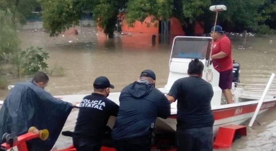 """Inundaciones y apagones, deja """"Hanna"""""""
