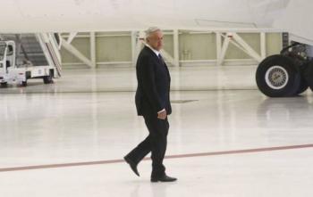 AMLO no subirá al avión presidencial