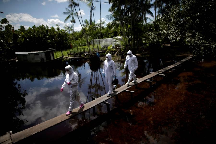 Brasil registra más de 40 mil contagios nuevos de Covid-19