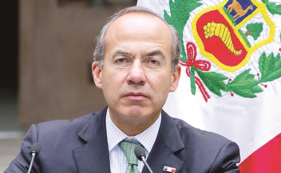 Calderón critica a AMLO por bajar presupuesto de FONDEN