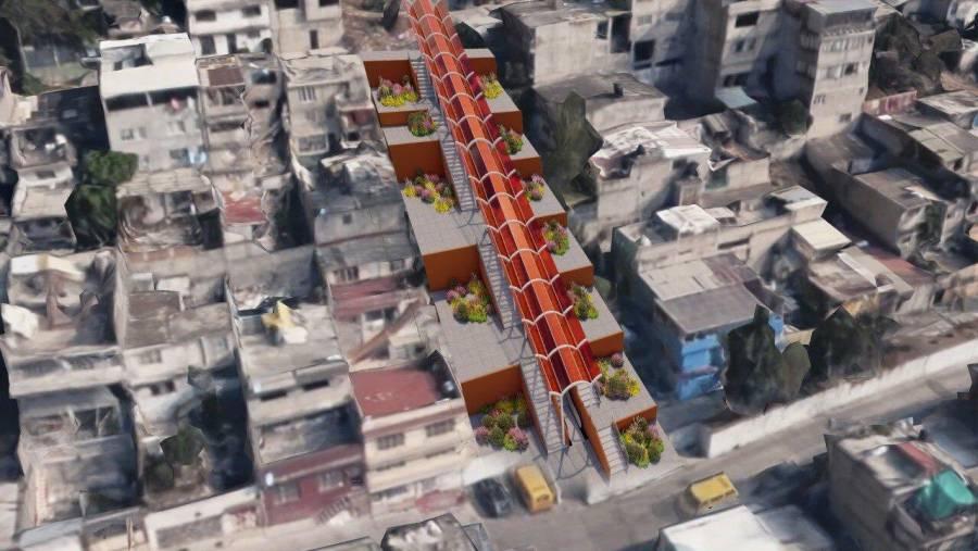 Álvaro Obregón se suma a proyectos de primer mundo, construye escaleras eléctricas en colonias populares