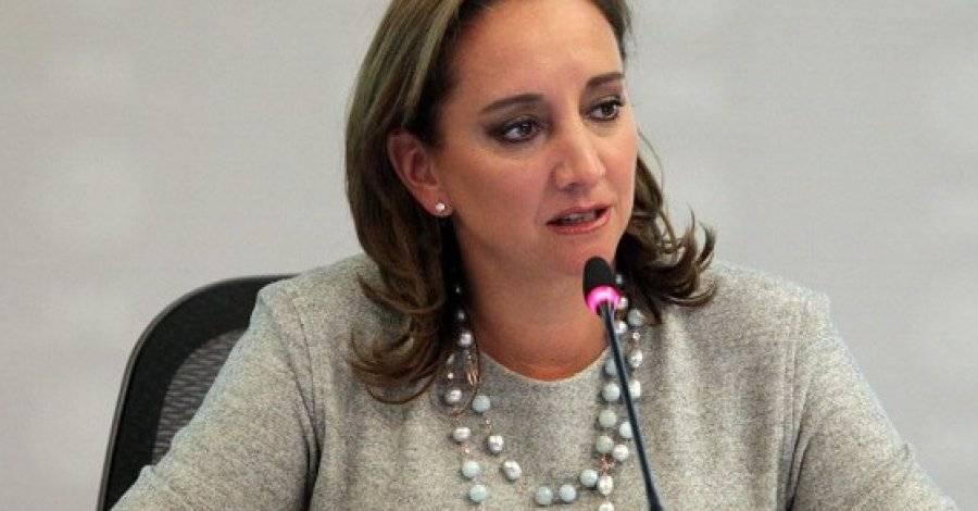 """Ruiz Massieu solicita """"no distraernos con pirotecnias"""" sobre caso Lozoya"""
