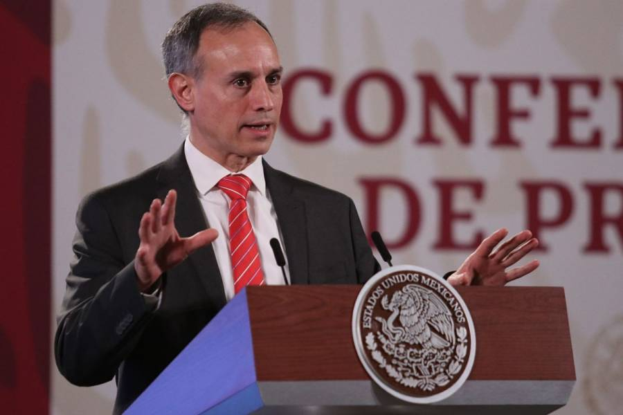 Cubrebocas, barrera que debe usarse con otras medidas de prevención: López-Gatell
