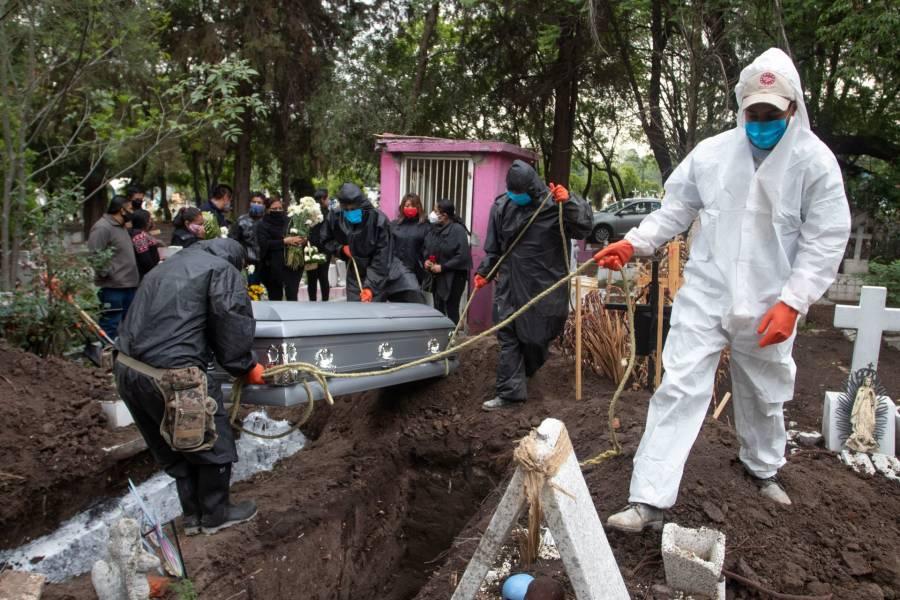 México es el quinto lugar de América en fallecimientos por covid-19