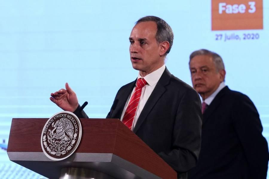 """López-Gatell asegura que en sexenio calderonista no se construyeron centros """"Nueva Vida"""""""