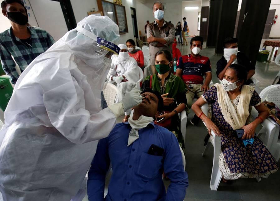 India registra medio millón de contagios por Covid-19 en solo 12 días