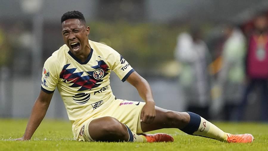 Andrés Ibarguen estará fuera de las canchas hasta 4 semanas por lesión