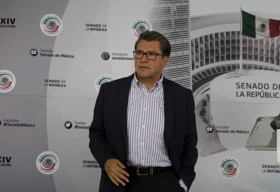 Monreal pide a senadora del PAN que se disculpe con Mónica Fernández por agredirla