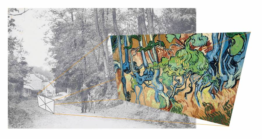 Postal revela sitio donde Van Gogh pintó su último lienzo antes de suicidarse