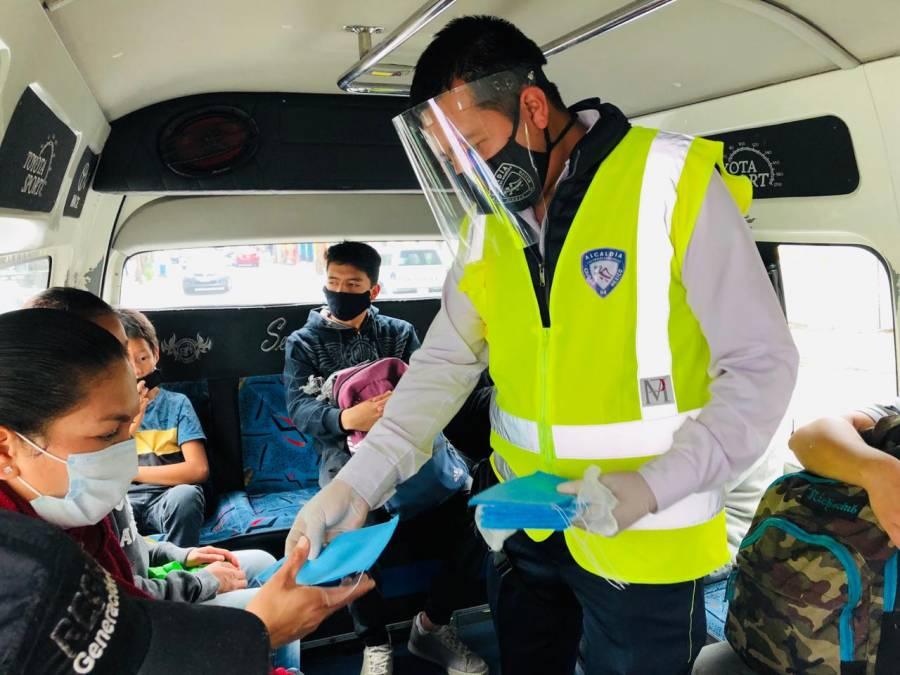 Alcaldía Cuajimalpa refuerza medidas sanitarias en las colonias Navidad y Ébano