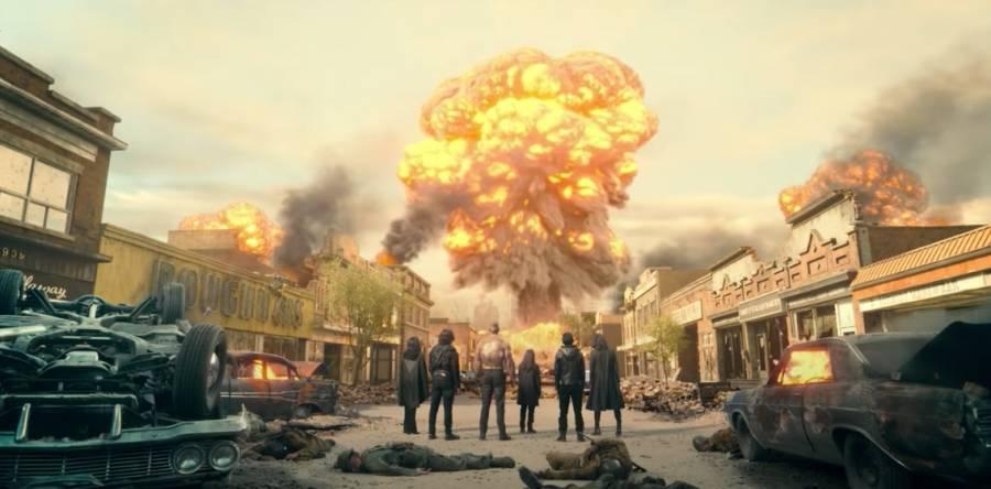 Con explosiva escena, Netflix presenta avance de The Umbrella Academy