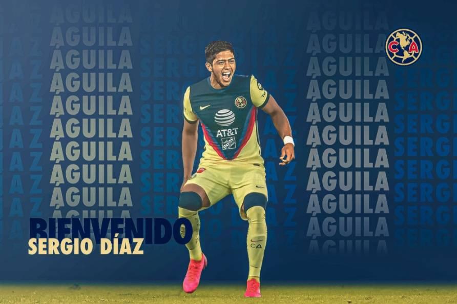 Oficial: Sergio Díaz, nuevo jugador del América