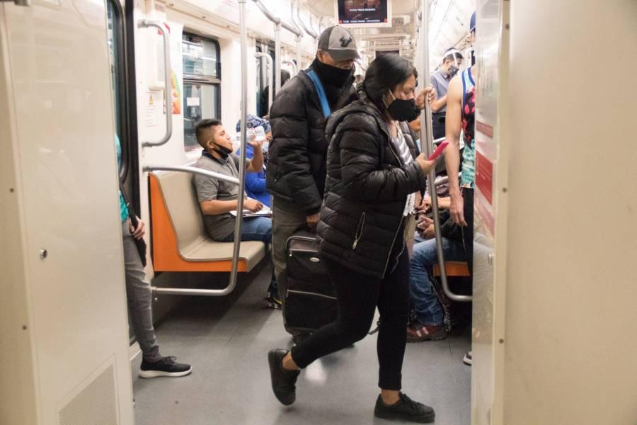 El Metro restringe horarios para evitar contagios de covid-19