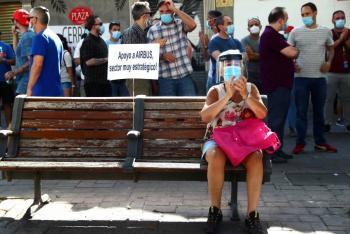 Por Covid, 3.3 millones  de españoles sin empleo