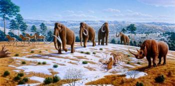 Humanos en América antes de la glaciación