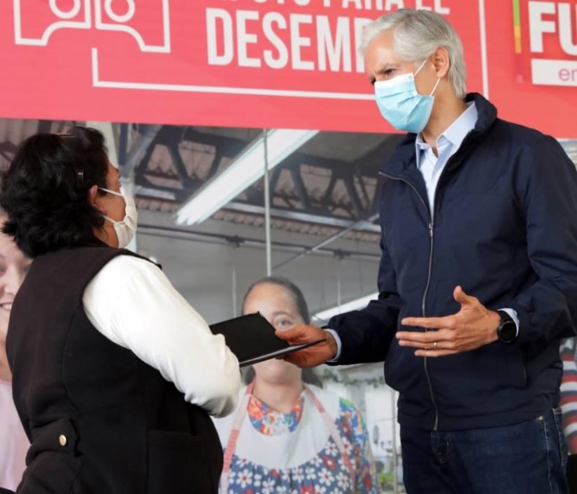 Destaca Del Mazo que apoyos para el desempleo reactivarán la economía familiar